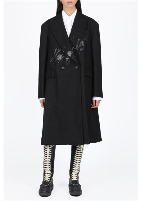 wool double-breasted coat MM6 MAISON MARGIELA | 17 | S32AA0155 S52207BLACK