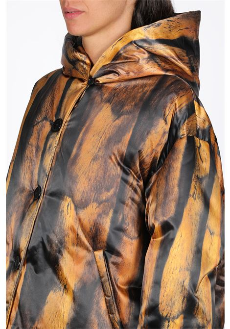 Fur printed duvet jacket  MM6 MAISON MARGIELA | -276790253 | S32AM0309 S52206PRINT