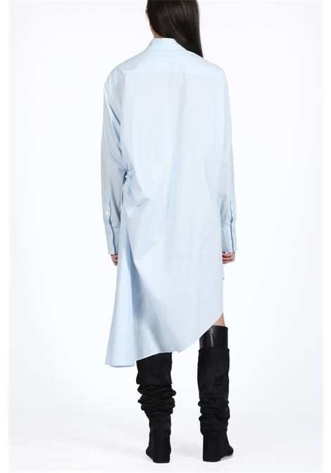 abito oversize in popeline MM6 MAISON MARGIELA | 11 | S32CU0088 S47294LIGHT BLUE