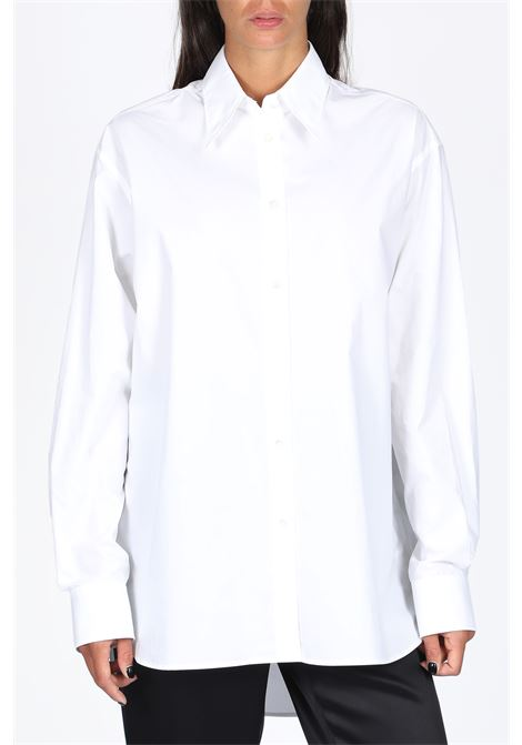 camicia in popeline MM6 MAISON MARGIELA | 6 | S32DL0223 S47294WHITE