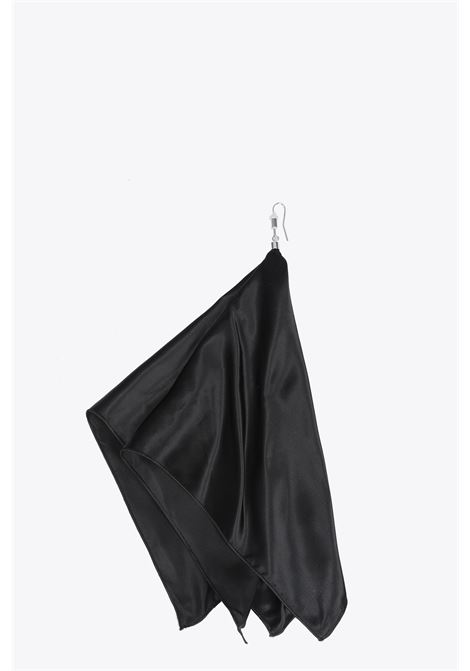 orecchini foulard in satin MM6 MAISON MARGIELA | 48 | S32VG0038 S11892BLACK