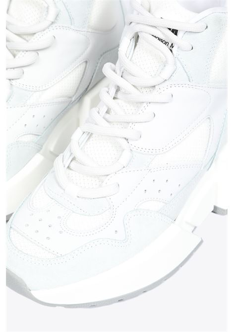 lace-up leather sneaker MM6 MAISON MARGIELA | 10000039 | S40WS0122 P2814WHITE