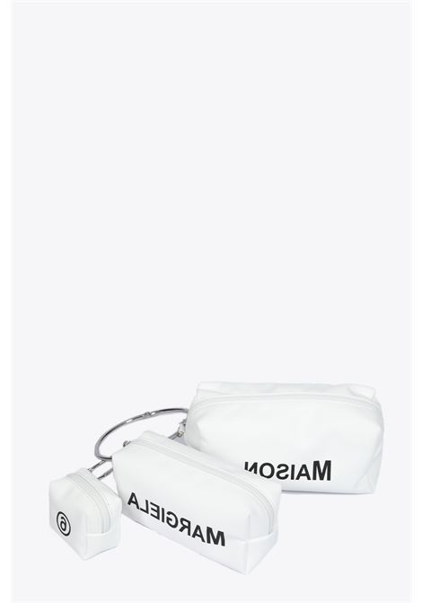suede three pouches set MM6 MAISON MARGIELA | 31 | S41WD0037 P2855WHITE