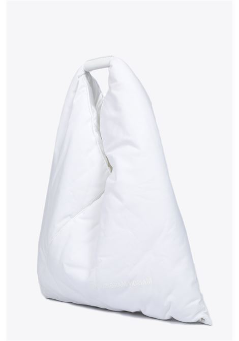 padded cotton japanese bag, MM6 MAISON MARGIELA | 31 | S54WD0039 P2869WHITE