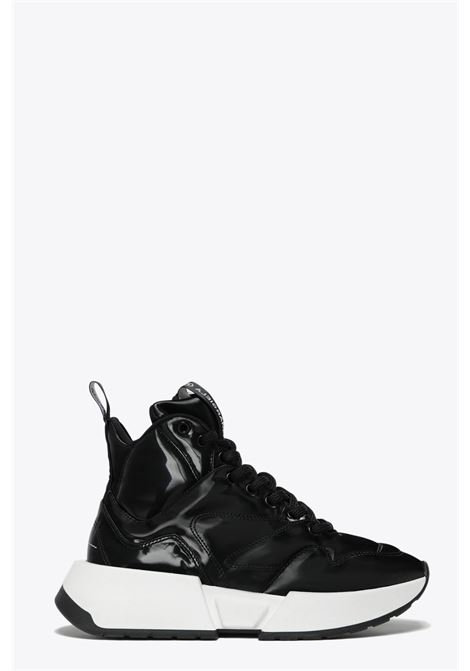 hi-top lace-up sneaker MM6 MAISON MARGIELA | 10000039 | S66WS0003 P3024BLACK