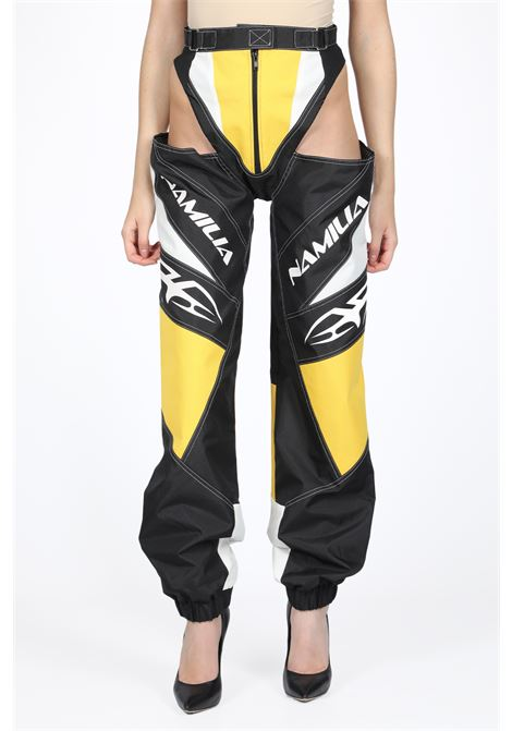MOTORCROSS PANTY TROUSERS NAMILIA | 9 | AW19TRS3 MOTORCROSS PANTY TROUSERS IIYELLOW