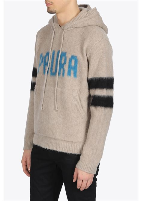 PAURA | -1384759495 | UBAY HIGHNECK SWEATER PAURABLACK/PETROLEUM