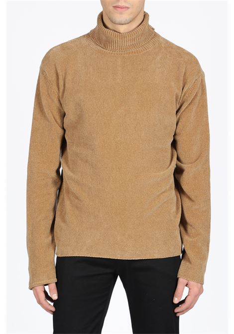 rib knit high collar sweater PAURA | -1384759495 | VIRGIL HIGHNECK SWEATERBEIGE