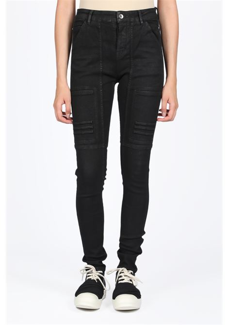 EASY NAGAKIN JOGGERS RICK OWENS-DRKSHDW | 9 | DS19F6318 SBB EASY NAGAKIN JOGGERS09