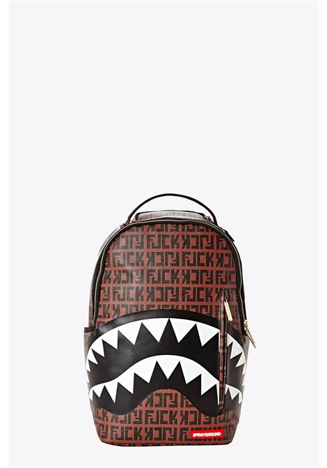 Backpack with shark mouth print SPRAYGROUND | 10000001 | 910B2185NSZMULTICOLOR