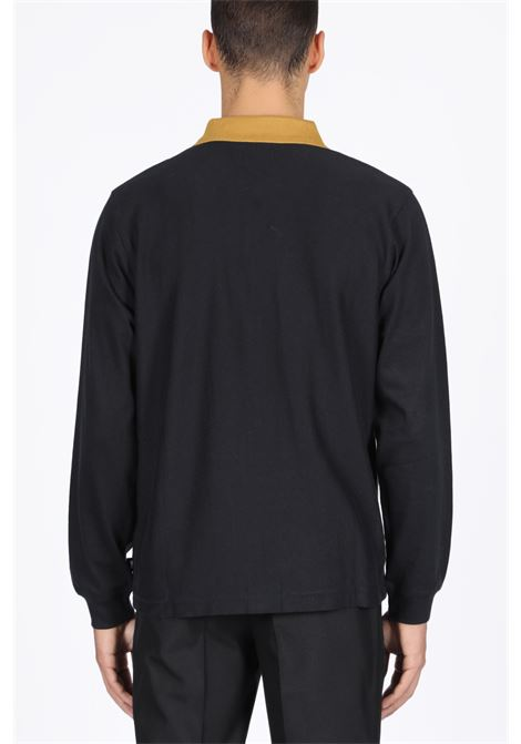 STUSSY | 2 | 1140151 PRESTON FULL ZIP LS POLOBLACK