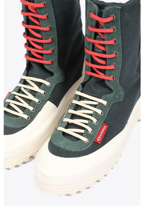 SUPERGA X PAURA | 10000039 | ALPINA MIDGREEN