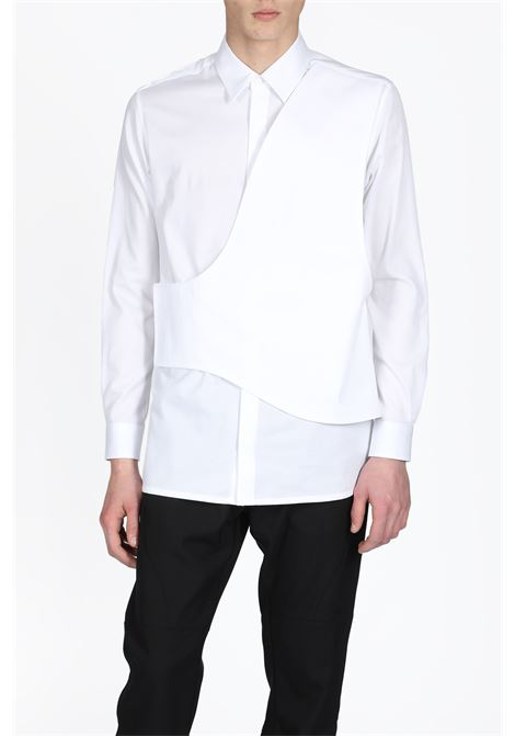 1017 ALYX 9SM | 6 | AAMSH0009A007 CROSS PANEL BUTTON UP007