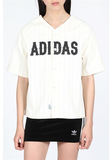 ADIDAS ORIGINALS | 8 | DU9895 BASEBALL JERSEYWHITE/RAW