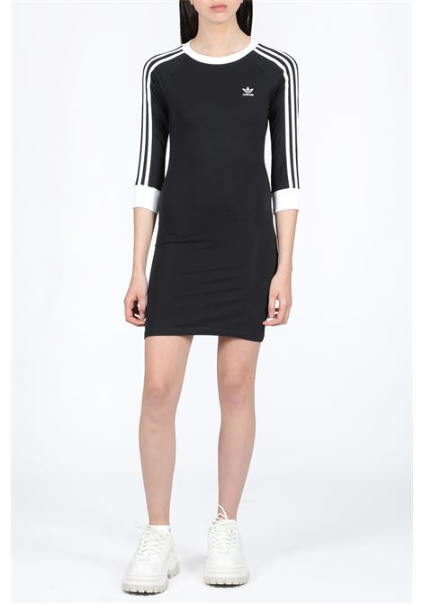 . ADIDAS ORIGINALS | 11 | DV2567 3 STRIPES DRESSBLACK