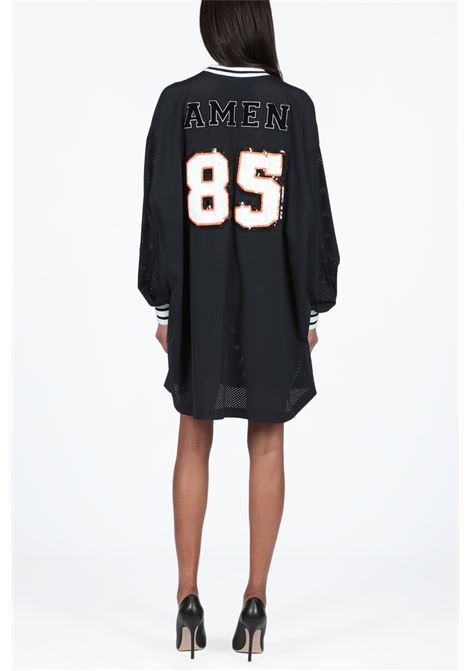 AMEN | 8 | AMS19226 T-SHIRT OVER IN MESH W EMBR009