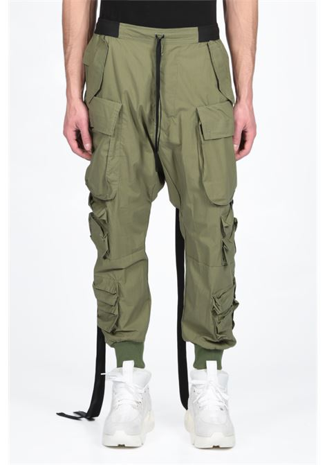 BEN TAVERNITI - UNRAVEL PROJECT | 9 | UMCF002S19107007 T COTTON CARGO PANTS4300