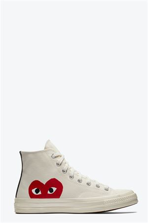 COMME DES GARCONS PLAY | 10000039 | P1K112 PLAY CONVERSE CHUCK TAYLORBEIGE