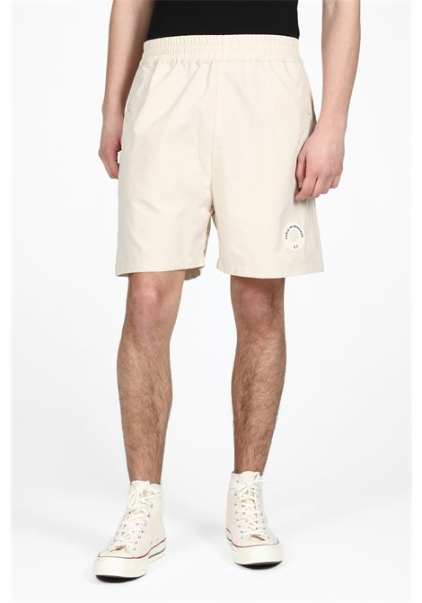 DROLE DE MONSIEUR | 30 | SS19-CAMBRIDGE PATCH LOGO SHORTBEIGE