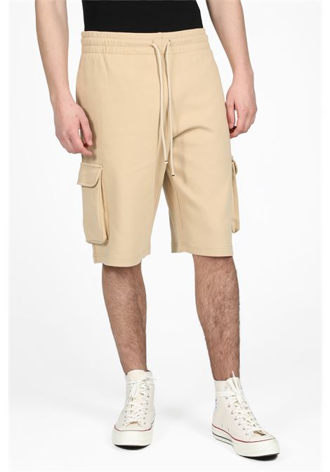 DROLE DE MONSIEUR | 30 | SS19-PARIS CARGO SHORTBEIGE