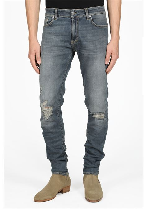REPRESENT | 9 | 107002 DESTOYER DENIMFADED BLUE