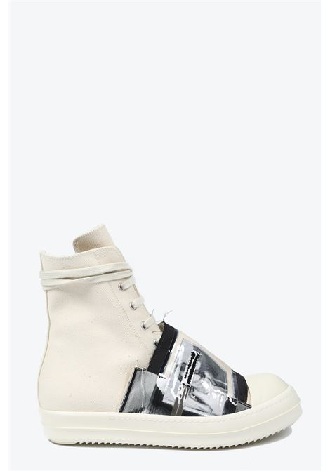 RICK OWENS-DRKSHDW | 10000039 | DU19S4800 MWPEP6 SNEAKERS WITH PATCH21211