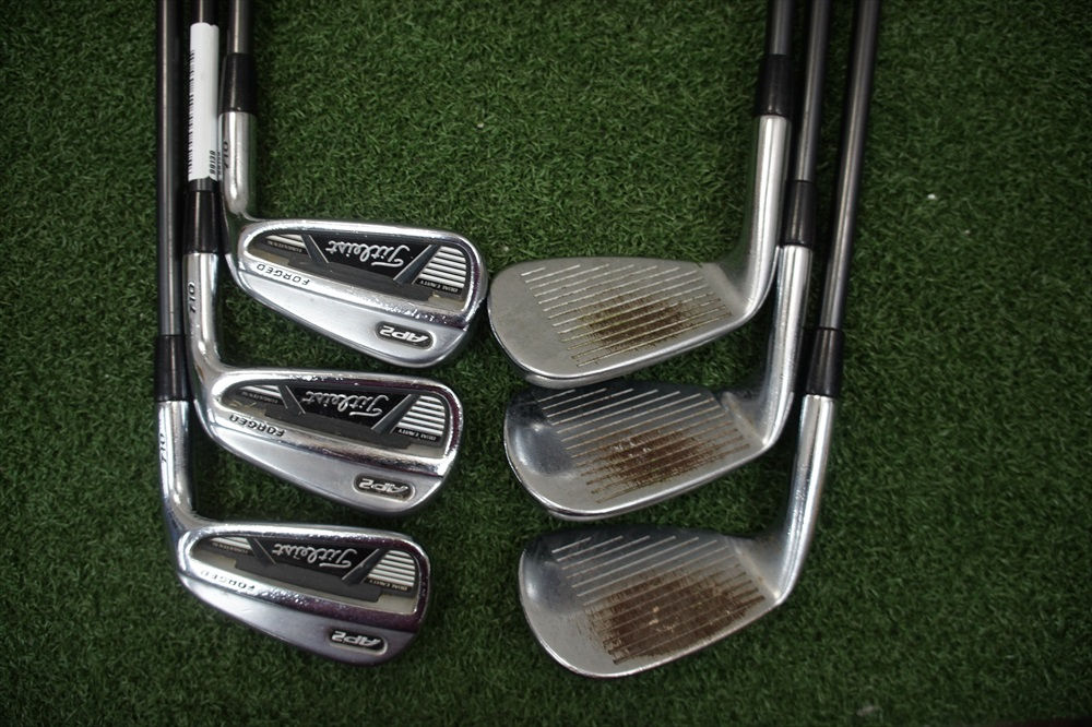 Titleist AP2 710 Forged Graphite Iron Set Stiff Flex Irons