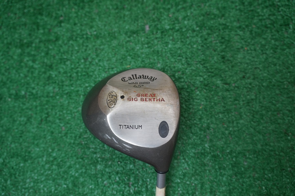 Callaway Great Big Bertha Warbird 6.5 Degree Driver Stiff ...