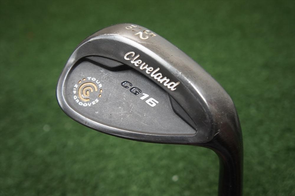 Cleveland Cg16 Gunmetal 52 Degree Gap Wedge Steel Shaft