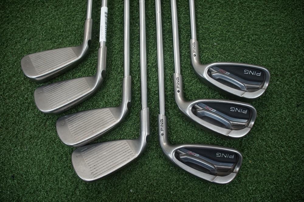 Ping G25 Black Dot Steel Shaft Iron Set Regular 4 Pw Irons