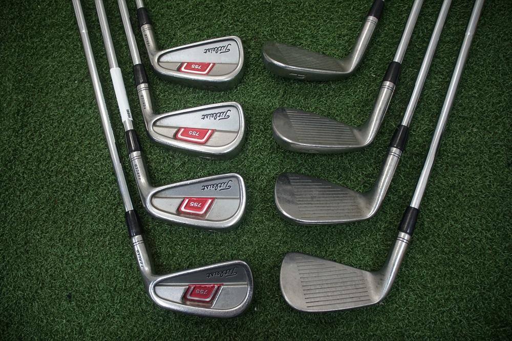 Titleist 755 Forged Steel Shaft Iron Set Stiff 3 Pw Irons 284238 Used Golf Ebay