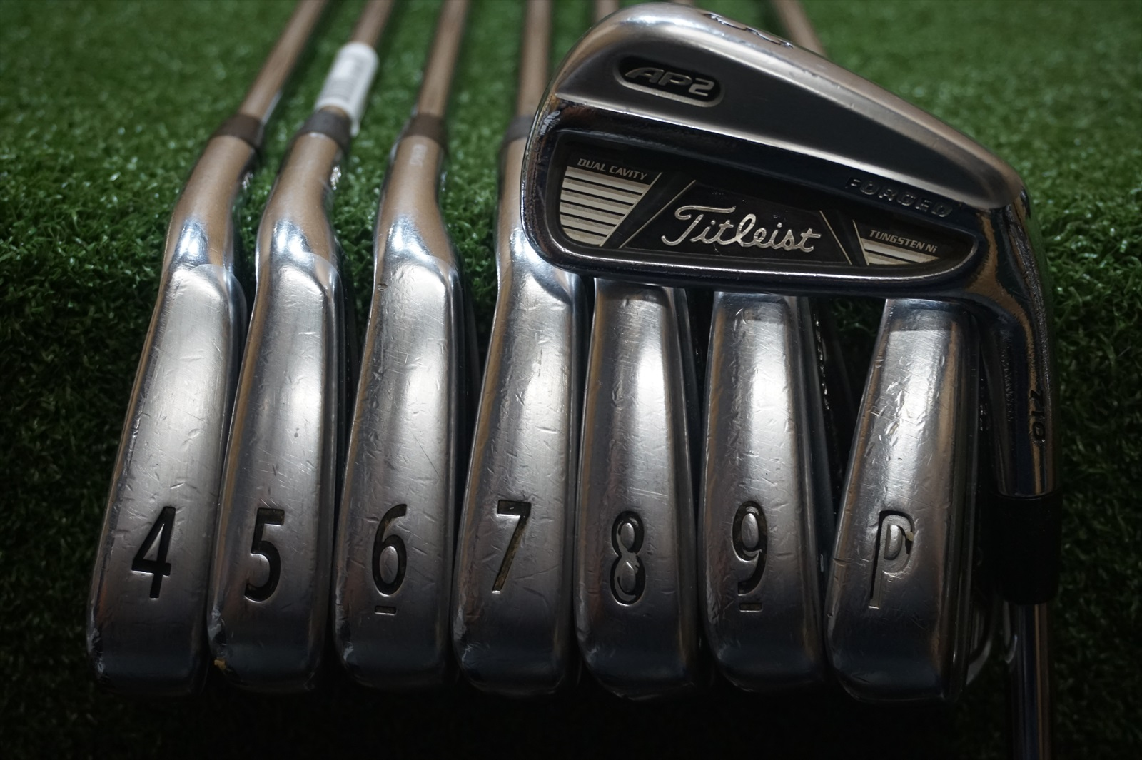 Titleist AP2 710 Forged 3 PW Irons Steel Stiff Flex Iron
