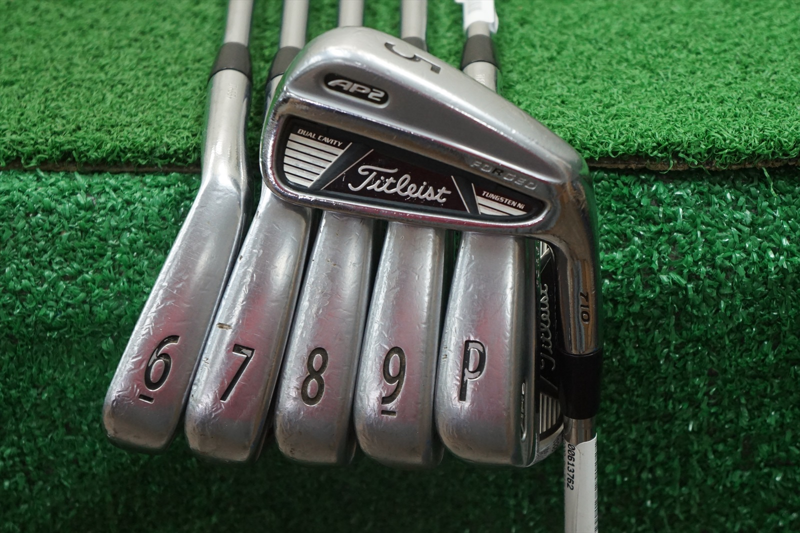Titleist Ap2 710 Iron Set Stiff Flex Irons 5 PW 0613762