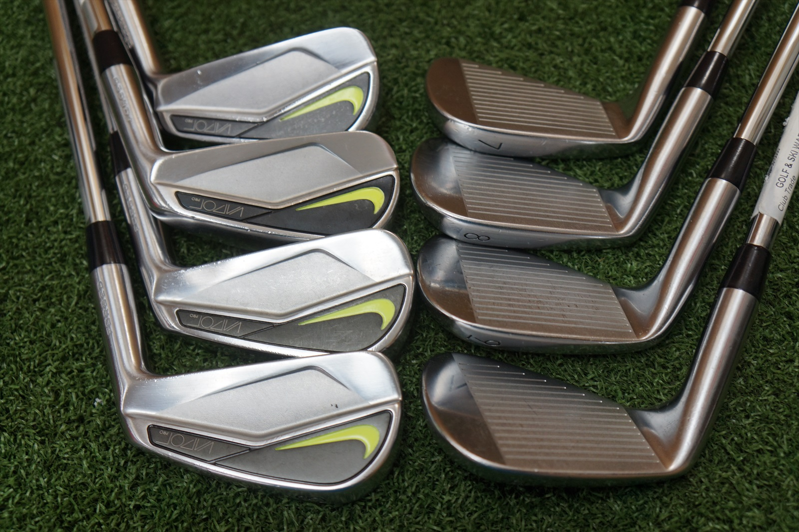 2aac69846b0 We have Used A Stock Image to Represent This Iron Set. Our Team is  Comprised of Experts in Pre-Owned Golf Equipment and do our best to Rate  Clubs with ...