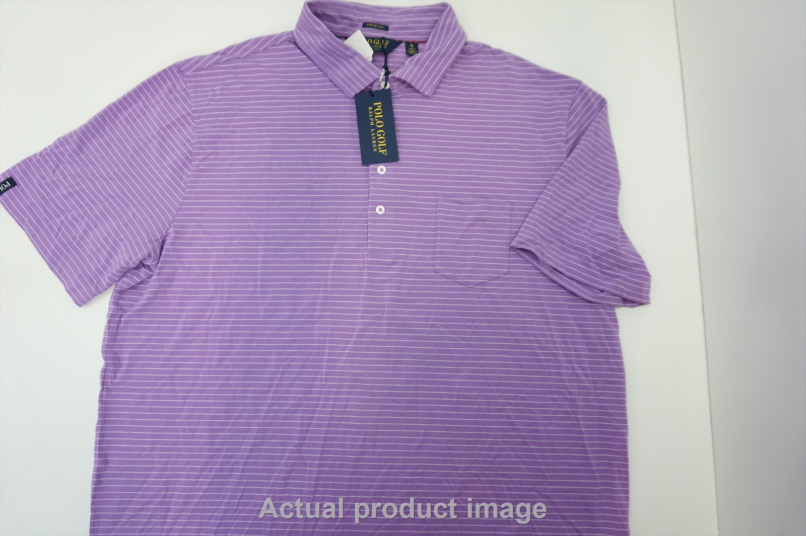 NEW Ralph Lauren Polo Golf Golf  Polo Mens  XL  Pink MU  210c
