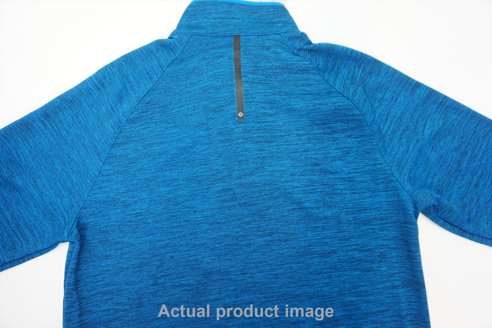 fd8eaf07 Details about New Puma Golf Bonded Pullover Mens Medium Electric Blue  Lemonade 1/4 Zip 240b