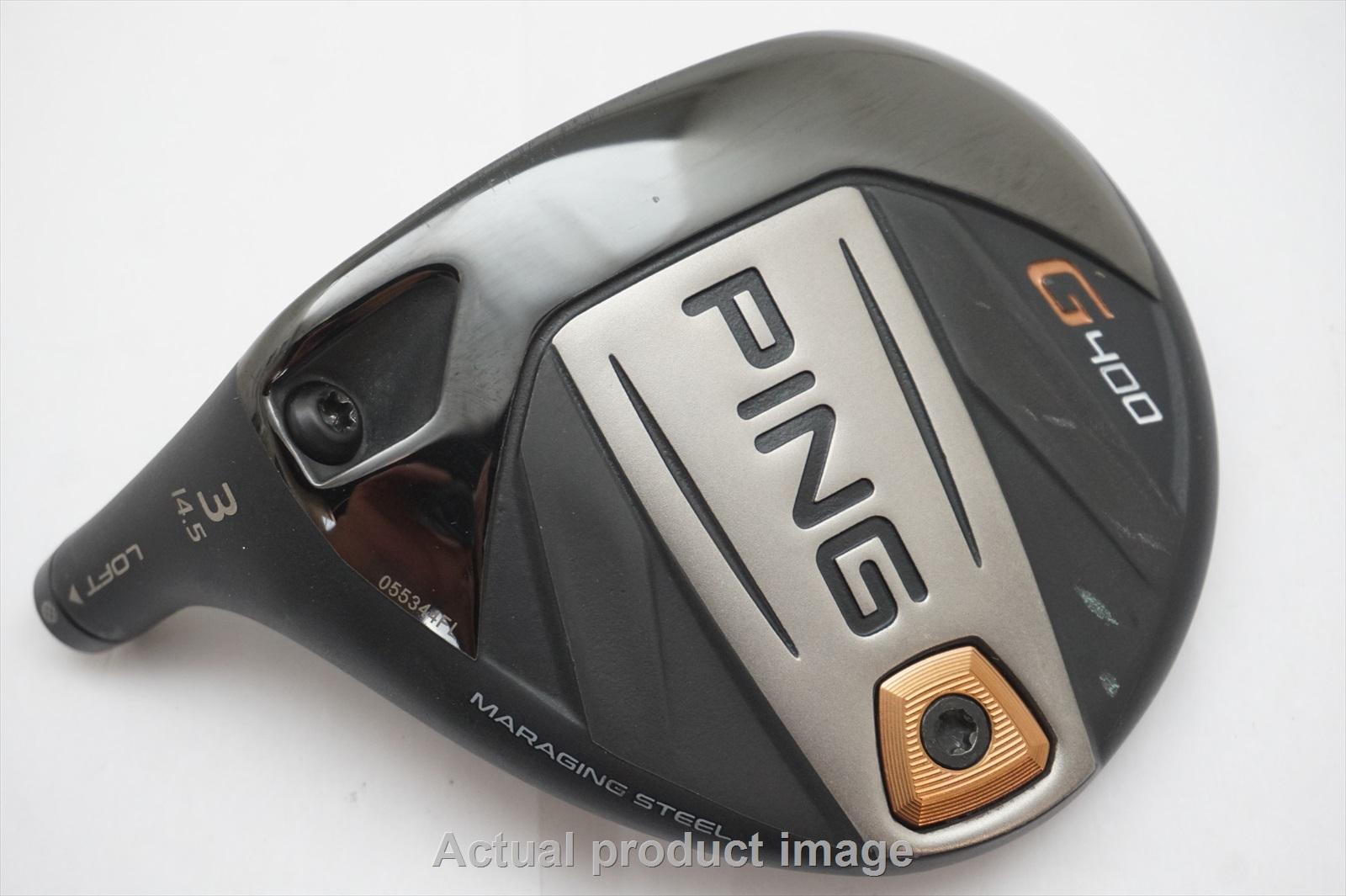 Ping G400 14.5 * #3 Bois De Fairway Club Tête Seulement 760837 Lefty Lh-afficher Le Titre D'origine Usines Et Mines