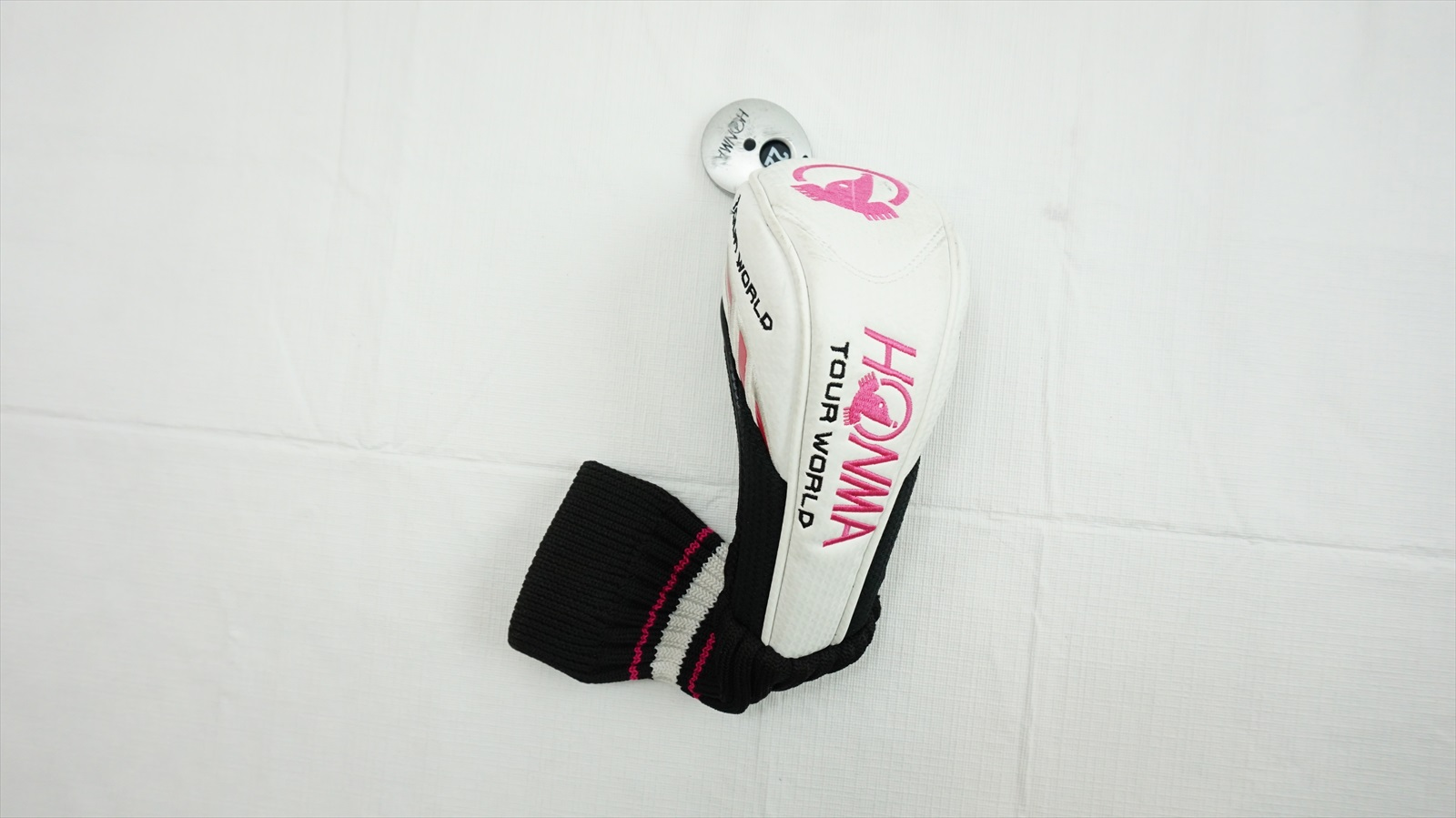 Honma-Golf-Ladies-Tour-World-Pink-Hybrid-Headcover-Head-Cover-Fair