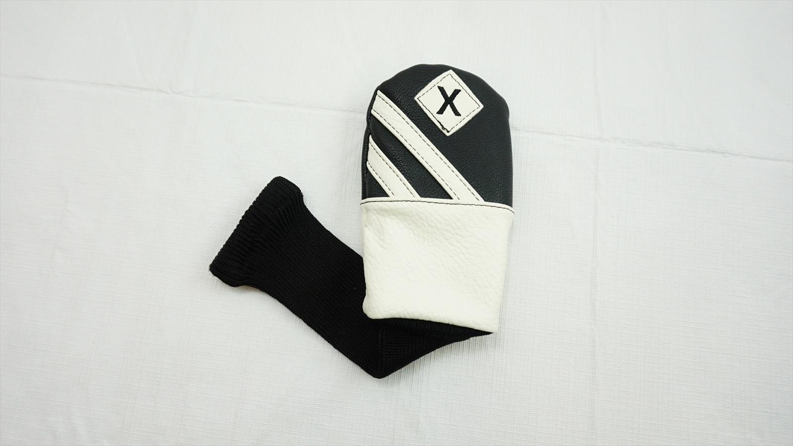 Callaway-Golf-Noir-Blanc-Generique-X-Hybride-voile-Head-Cover-Bon