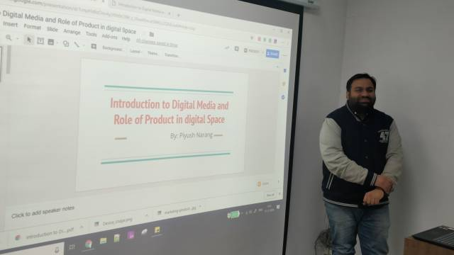 Digital Marketing Class for Sales team, Amar Ujala