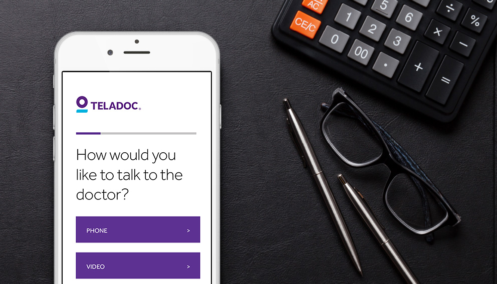 Teladoc | 24/7 access to doctors by phone or video