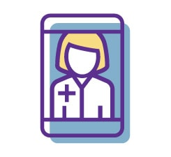 virtual pcp doctor icon