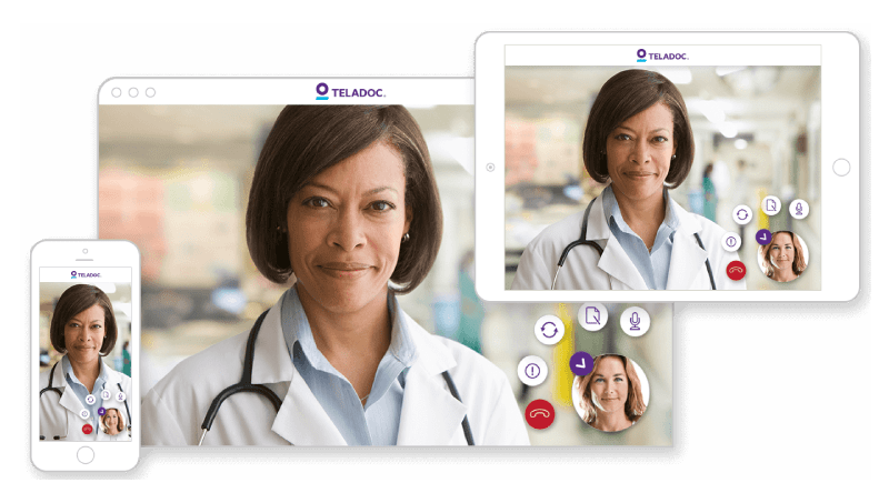The Right Care From Anywhere Teladoc