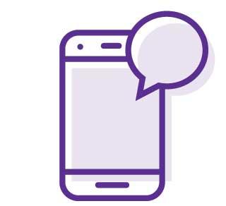 virtual care phone icon