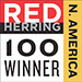 Red Herring Top 100 North America Winner award logo
