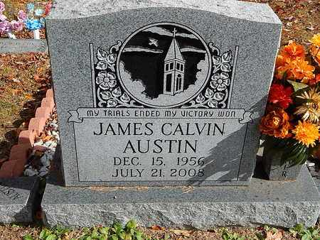 AUSTIN, JAMES CALVIN - Anderson County, Tennessee | JAMES CALVIN AUSTIN - Tennessee Gravestone Photos