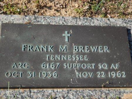 BREWER (VETERAN), FRANK M   - Anderson County, Tennessee | FRANK M   BREWER (VETERAN) - Tennessee Gravestone Photos