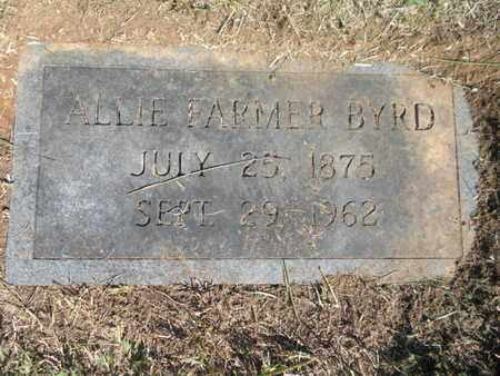 BYRD, ALLIE - Anderson County, Tennessee | ALLIE BYRD - Tennessee Gravestone Photos