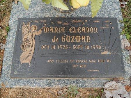 DE GUZMAN, MARIA ELEANOR - Anderson County, Tennessee | MARIA ELEANOR DE GUZMAN - Tennessee Gravestone Photos