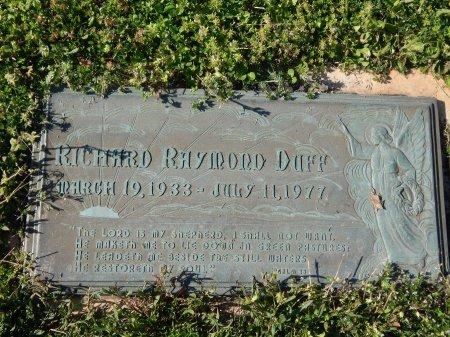 DUFF, RICHARD RHYMOND - Anderson County, Tennessee   RICHARD RHYMOND DUFF - Tennessee Gravestone Photos